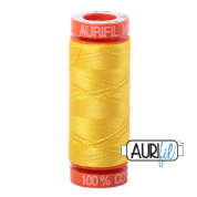 Aurifil 50 Cotton Thread - 2120 (Canary)